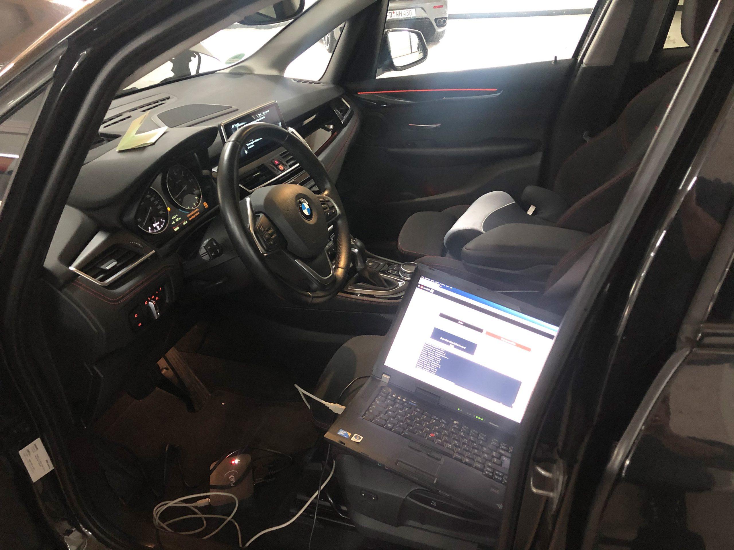 Kennfeldoptimierung BMW F45 Diesel